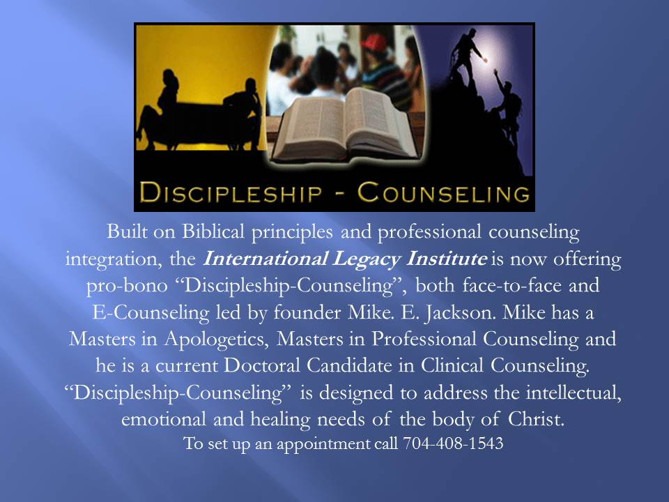 discipleship counseling Learn about discipleship and how to grow in your faith read christian living and  spiritual growth articles on discipleship.